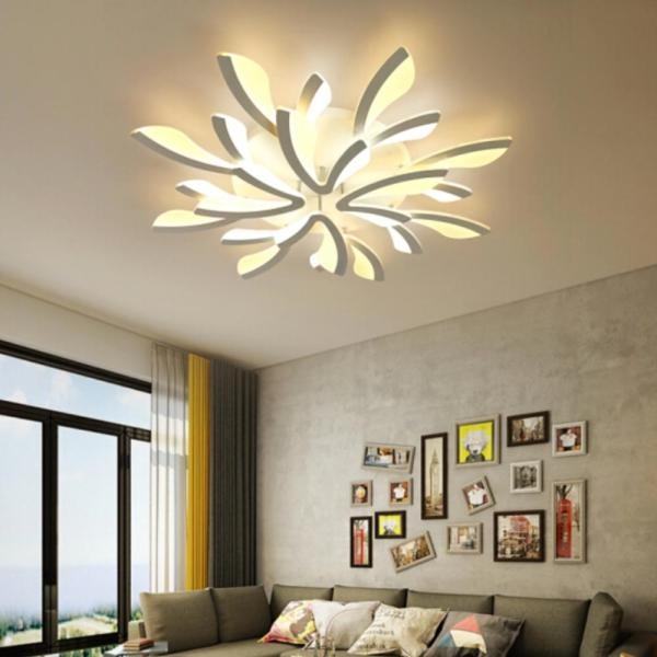 LED Ceiling Lights Dandelion Indoor Ceiling Lamp Modern Simple Post Modern Living Room Bedroom Dining Room 4 LED Ceiling Lights Dandelion Indoor Ceiling Lamp Modern Simple Post-Modern Living Room Bedroom Dining Room Study Room