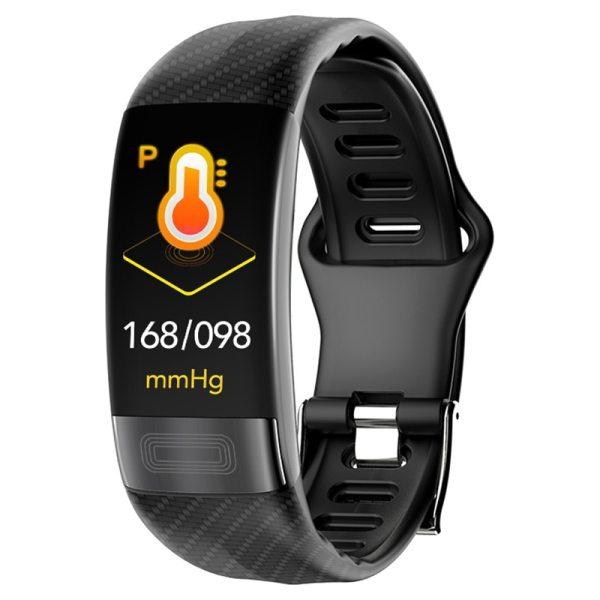 MKS Smartband Blood Pressure Smart Band Heart Rate Monitor PPG ECG Smart Bracelet Activity Fitness Tracker MKS Smartband Blood Pressure Smart Band Heart Rate Monitor PPG ECG Smart Bracelet Activity Fitness Tracker Electronics Wristband