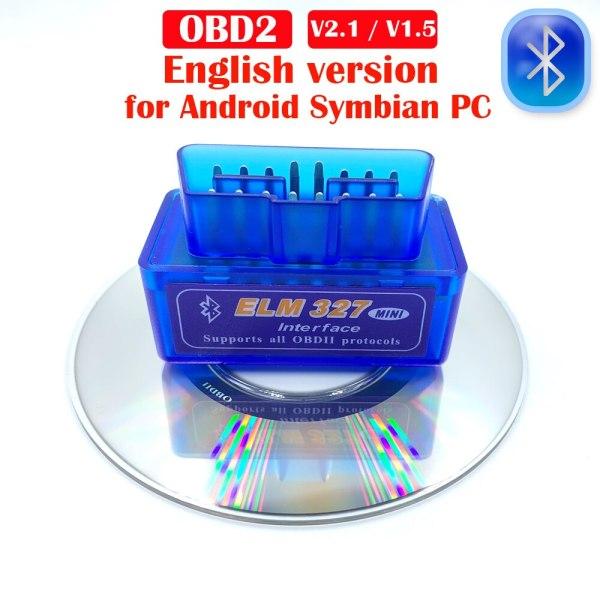 Newest OBD2 Elm327 V1 5 V2 1 Bluetooth Car Diagnostic Tools Car Accessories Fix Android Symbian Newest OBD2 Elm327 V1.5/V2.1 Bluetooth Car Diagnostic Tools Car Accessories Fix Android/Symbian For Bmw e46 For Volkswagen,etc.