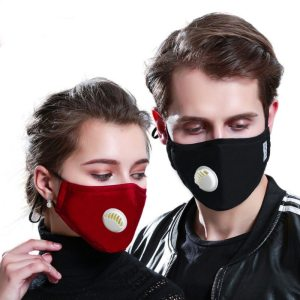PM2 5 Mask 2 Filters Breathe Reusable Face Mask Anti For Outdoor Sports Travel Resist Dust Innrech Market.com