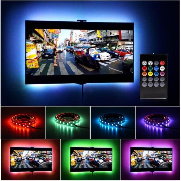 USB LED Strip 5050 RGB Changeable LED TV Background Lighting 50CM 1M 2M 3M 4M 5M 1 USB LED Strip 5050 RGB Changeable LED TV Background Lighting 50CM 1M 2M 3M 4M 5M DIY Flexible LED Light.