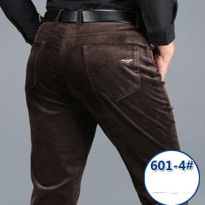 Dropshipping Corduroy Pants Men Winter Casual Pants Black Khaki 2018 Straight Stretch Thick Corduroy Trousers Men Innrech Market.com