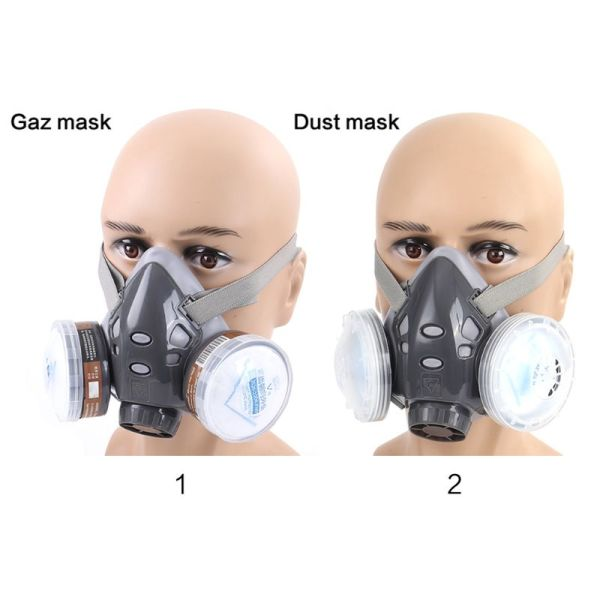 Full Facemask Respirator Gas Mask Filter Dust Protective Facepiece Mask For Paint Spraying M26 20 Dropship Full Facemask Respirator Gas Mask Filter Dust Protective Facepiece Mask For Paint Spraying M26 20 Dropship