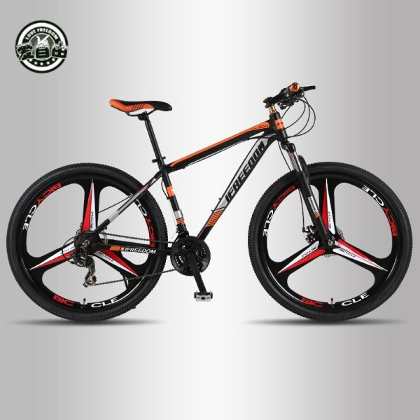 Love Freedom High Quality 29 Inch Mountain Bike 21 24 Speed Aluminum Frame Bicycle Front And Love Freedom High Quality 29 Inch Mountain Bike 21/24 Speed Aluminum Frame Bicycle Front And Rear Mechanical Disc Brake