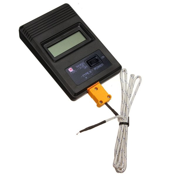TM 902C 50C to 1300C Temperature Meter TM902C Digital K Type Thermometer Sensor Thermocouple Probe detector TM-902C (-50C to 1300C) Temperature Meter TM902C Digital K Type Thermometer Sensor + Thermocouple Probe detector
