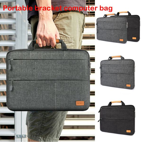 Unisex Solid Waterproof Laptop Computer Bag Breifcase Sleeve Case Bag Dell HP 11 13 15 In Unisex Solid Waterproof Laptop Computer Bag Breifcase Sleeve Case Bag Dell HP 11/13/15/In