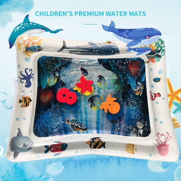 2019 Creative Water Mat Baby Inflatable Patted Pad Baby Inflatable Water Cushion Infant Play Mat Toddler 1 2019 Creative Water Mat Baby Inflatable Patted Pad Baby Inflatable Water Cushion Infant Play Mat Toddler Funny Pat Pad Toys