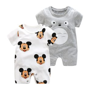 2019 Summer New Style Short Sleeved Girls Dress Baby Romper Cotton Newborn Body Suit Baby Pajama Innrech Market.com