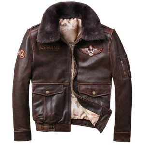 2019 Vintage Men s G1 Air Force Pilot Jackets Genuine Leather Cowhide Jacket Plus Size 5XL Innrech Market.com