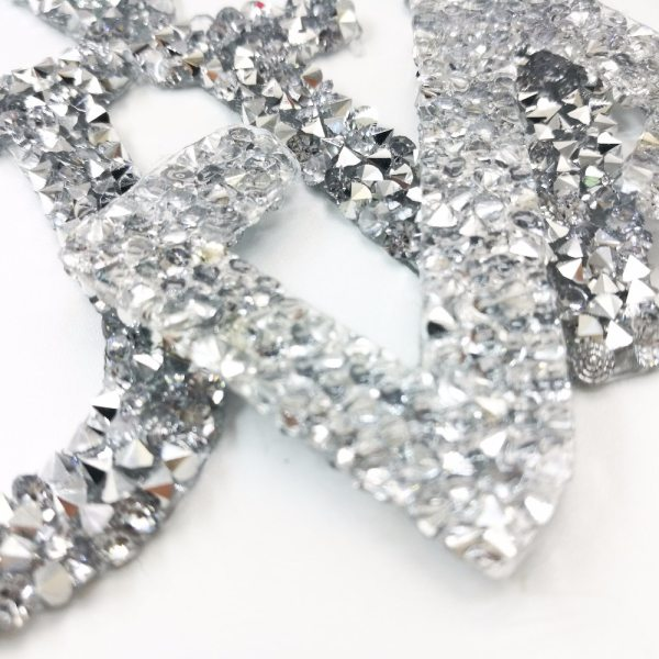 A Z 1PC Rhinestone English Alphabet Letter Mixed Embroidered Iron On Patch For Clothing Badge Paste 2 A-Z 1PC Rhinestone English Alphabet Letter Mixed Embroidered Iron On Patch For Clothing Badge Paste For Clothes Bag Pant shoes
