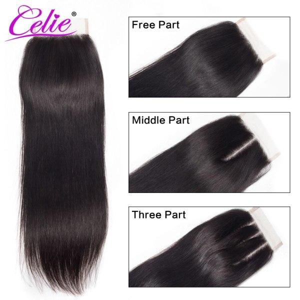 Celie Hair Brazilian Hair Weave Bundles With Closure Straight Hair Bundles With Closure Remy Human Hair 3 Celie Hair Brazilian Hair Weave Bundles With Closure Straight Hair Bundles With Closure Remy Human Hair Bundles With Closure