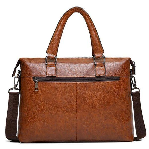 Famous Designer JEEP BULUO Brands Men Business Briefcase PU Leather Shoulder Bags For 13 Inch Laptop 1 Famous Designer JEEP BULUO Brands Men Business Briefcase PU Leather Shoulder Bags For 13 Inch Laptop Bag big Travel Handbag 6013