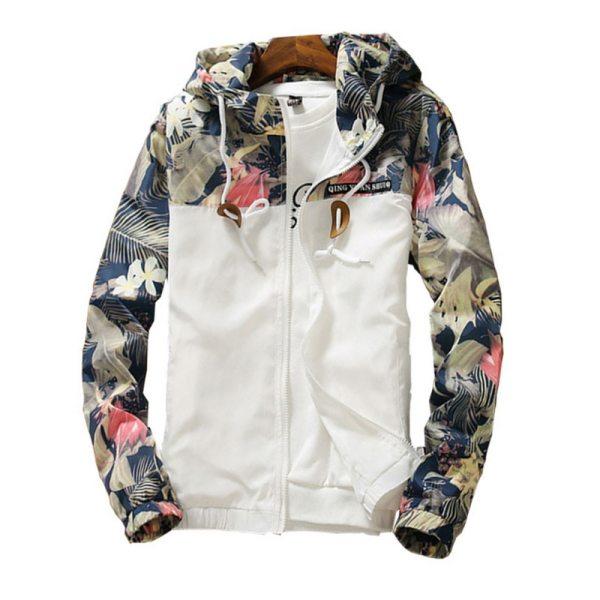Floral Bomber Jacket Men Hip Hop Slim Fit Flowers Pilot Bomber Jacket Coat Men s Hooded Floral Bomber Jacket Men Hip Hop Slim Fit Flowers Pilot Bomber Jacket Coat Men's Hooded Jackets Plus Size 4XL ,