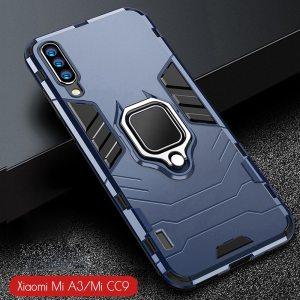 For Xiaomi Mi A3 Case Armor PC Cover Finger Ring Holder Phone Case For Mi A Innrech Market.com