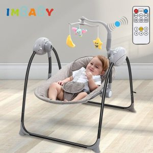 IMBABY Baby Rocking Chair Baby Swing Electric Baby Cradle With Remote Control Cradle Rocking Chair For Innrech Market.com