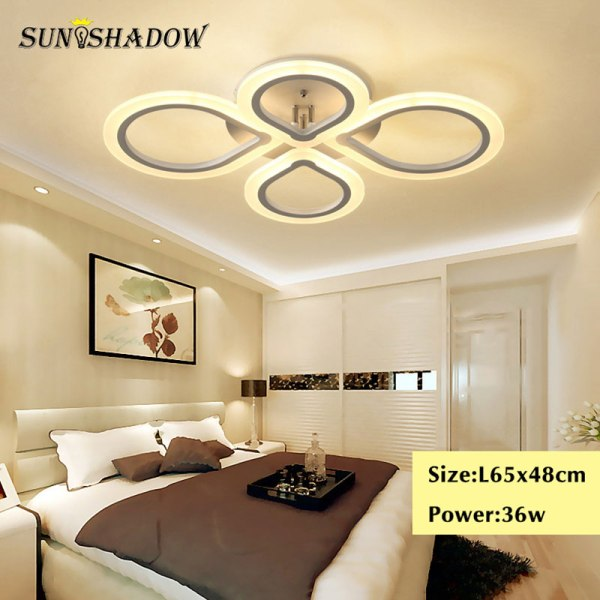 Rings Modern Led Ceiling Light For Living room Bedroom Luminaires Black White Acrylic Surface Mounted Chandelier 4 Lamps Plus Chandeliers | Crystal Ceiling Lights | Rings Modern Led Ceiling Light For Living room Bedroom Luminaires Black White Acrylic Surface Mounted Chandelier Ceiling Lamps 001
