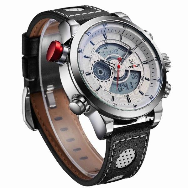 Weide watch Men Luxury Top Brand Quartz Watch Fashion Business Male Watch Shockproof Luminous Wristwatch 3 Weide watch Men Luxury Top Brand Quartz Watch Fashion Business Male Watch Shockproof Luminous Wristwatch