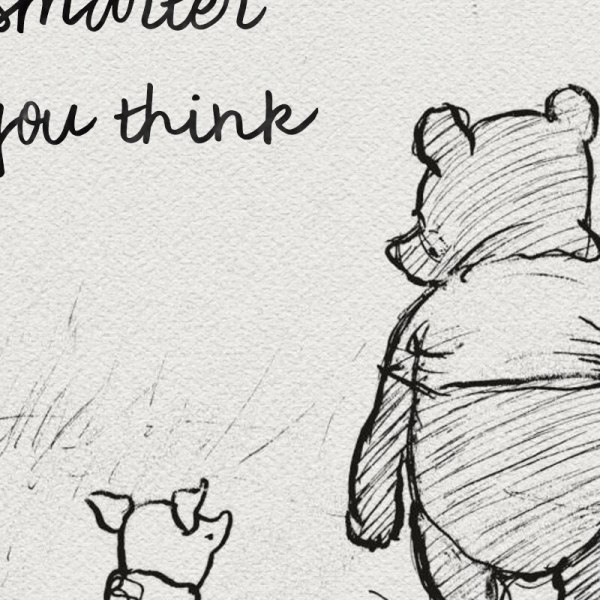 Winnie The Pooh Quotes Canvas Posters and Prints Classic Cartoon Movie Art Painting Black White Picture 1 Winnie The Pooh Quotes Canvas Posters and Prints Classic Cartoon Movie Art Painting Black White Picture Kids Room Wall Art Decor