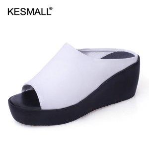 Women Platform Sandals 2019 Summer Slip On Shoes Woman Fashion Wedges Female Fashion Rome Slippers Innrech Market.com