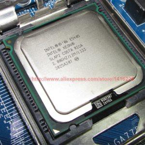 intel xeon E5405 processor 2 0GHz 12M 1333Mhz quad core cpu Works on LGA775 motherboard Innrech Market.com