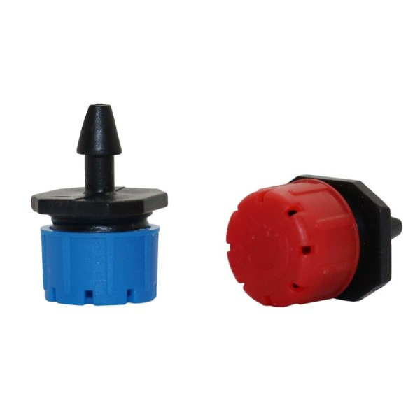 25 Pcs 8 hole Garden Irrigation Misting Micro Flow Dripper Drip Head 1 4 Hose Drip 1 25 Pcs 8 hole Garden Irrigation Misting Micro Flow Dripper Drip Head 1/4'' Hose Drip irrigation system Watering