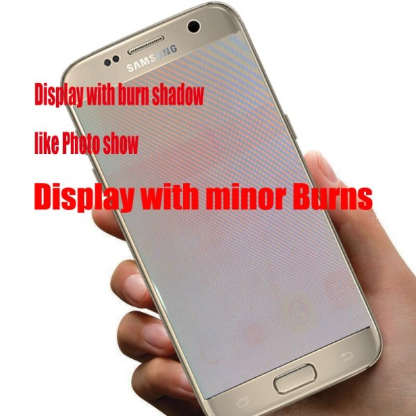 5 1 Burn Shadow LCD With Frame For SAMSUNG Galaxy S7 Display G930 G930F Touch Screen 2 5.1'' Burn-Shadow LCD With Frame For SAMSUNG Galaxy S7 Display G930 G930F Touch Screen Digitizer Replacement With Service Pack