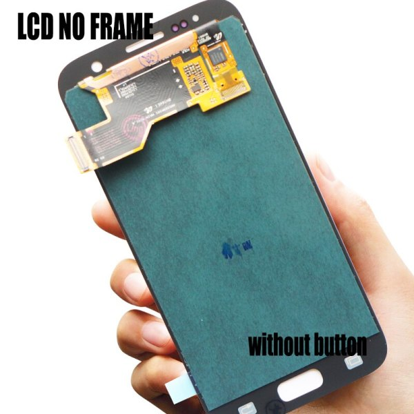 5 1 Burn Shadow LCD With Frame For SAMSUNG Galaxy S7 Display G930 G930F Touch Screen 3 5.1'' Burn-Shadow LCD With Frame For SAMSUNG Galaxy S7 Display G930 G930F Touch Screen Digitizer Replacement With Service Pack