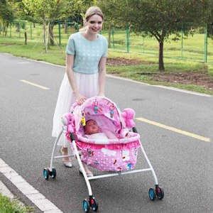 Cradle bedding ABS multi function electric baby bassinet with roller baby rocking chair mesedora para bebe Innrech Market.com