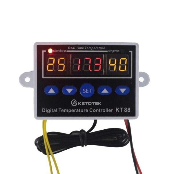 Digital Thermostat 12V 24V 110V 220V Temperature Controller Temperature Regulator Control Switch Relay Output 10A 220VAC Digital Thermostat 12V 24V 110V 220V Temperature Controller Temperature Regulator Control Switch Relay Output 10A 220VAC
