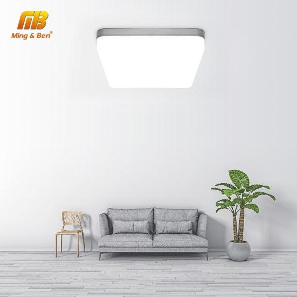 LED Panel Lamp LED Ceiling Light 48W 36W 24W 18W 13W 9W 6W Down Light Surface 4 LED Panel Lamp LED Ceiling Light 48W 36W 24W 18W 13W 9W 6W Down Light Surface Mounted AC 85-265V Modern Lamp For Home Lighting