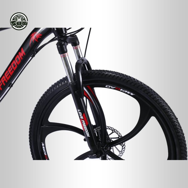 Love Freedom 21 speed 26 inch mountain bike bicycles double disc brakes student bike Bicicleta road 1 Love Freedom 21 speed 26 inch mountain bike bicycles double disc brakes student bike Bicicleta road bike Free Delivery