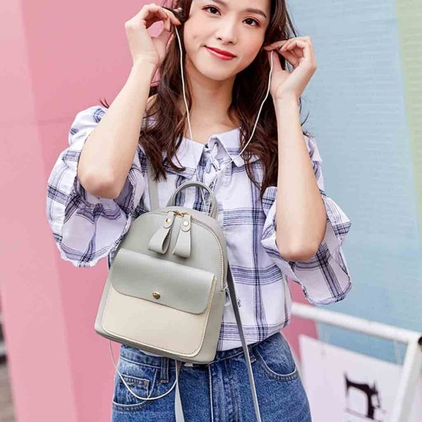 New Designer Fashion Women Backpack Mini Soft Touch Multi Function Small Backpack Female Ladies Shoulder Bag 2 New Designer Fashion Women Backpack Mini Soft Touch Multi-Function Small Backpack Female Ladies Shoulder Bag Girl Purse #YY