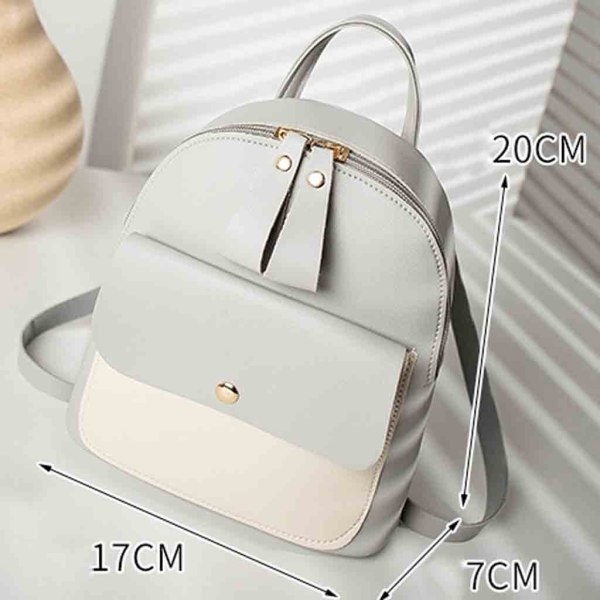 New Designer Fashion Women Backpack Mini Soft Touch Multi Function Small Backpack Female Ladies Shoulder Bag 5 New Designer Fashion Women Backpack Mini Soft Touch Multi-Function Small Backpack Female Ladies Shoulder Bag Girl Purse #YY