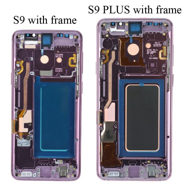 SUPER AMOLED has the Burn Shadow LCD with Frame for SAMSUNG Galaxy S9 G960 S9 Plus 5 SUPER AMOLED has the Burn-Shadow LCD with Frame for SAMSUNG Galaxy S9 G960 S9 Plus G965 Touch Screen Digitizer Assembly