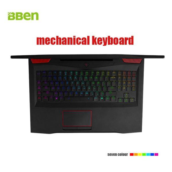 Bben laptop with Russian keyboard 17 3 Inch Intel Core I7 7700HQ CPU 32GB RAM 128GB 2 Bben laptop with Russian keyboard 17.3 Inch Intel Core I7 7700HQ CPU 32GB RAM 128GB SSD M.2 , 2TB HDD Laptop Windows10