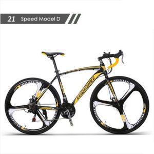 New brand carbon steel frame 700C wheel 21 27 speed disc brake road bike outdoor sport Innrech Market.com
