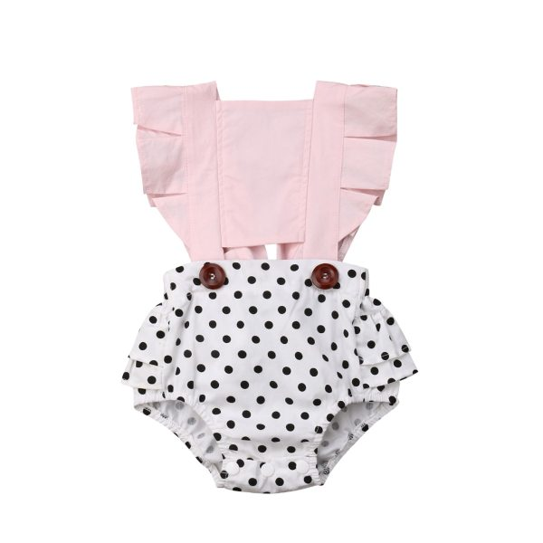 Newborn Infant Baby Girl Clothes Lace Splice Romper Backless Jumpsuit Outfit Sunsuit Baby Clothing 1 Newborn Infant Baby Girl Clothes Lace Splice Romper Backless Jumpsuit Outfit Sunsuit Baby Clothing