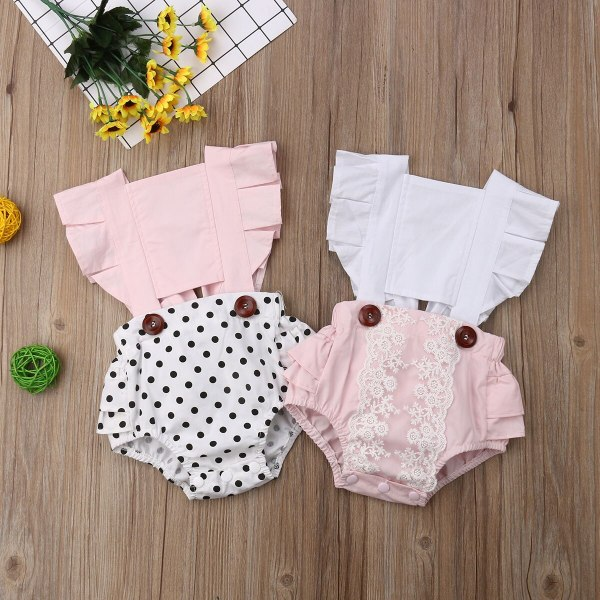 Newborn Infant Baby Girl Clothes Lace Splice Romper Backless Jumpsuit Outfit Sunsuit Baby Clothing 3 Newborn Infant Baby Girl Clothes Lace Splice Romper Backless Jumpsuit Outfit Sunsuit Baby Clothing