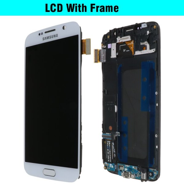 ORIGINAL 5 1 Super AMOLED Replacement LCD S6 for SAMSUNG GALAXY S6 G920 SM G920F G920F 4 ORIGINAL 5.1'' Super AMOLED Replacement LCD S6 for SAMSUNG GALAXY S6 G920 SM-G920F G920F G920FD Touch Screen Digitizer Assembly