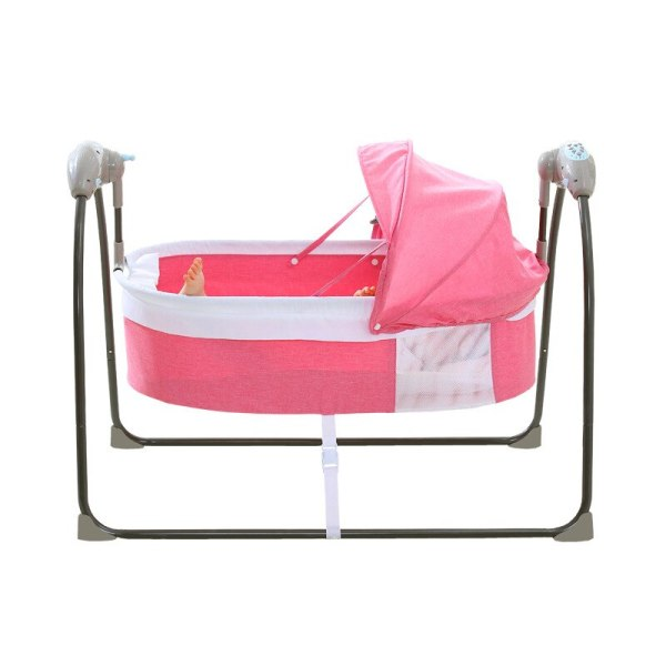 Bluetooth Control Swing Baby Rocking Chair Electric Baby Cradle Remote Control Cradle Rocking Chair For Newborns 2 Bluetooth Control Swing Baby Rocking Chair Electric Baby Cradle Remote Control Cradle Rocking Chair For Newborns Swing Chair
