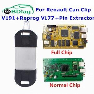 For Renault Can Clip V191 Gold Full Chip CYPRESS AN2135SC AN2131QC Car Diagnostic Tool For 1998 Innrech Market.com