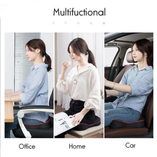 Premium Memory Foam Seat Cushion Coccyx Orthopedic Car Office Chair Cushion Pad for Tailbone Sciatica Lower 3 Premium Memory Foam Seat Cushion Coccyx Orthopedic Car Office Chair Cushion Pad for Tailbone Sciatica Lower Back Pain Relief