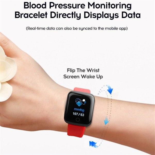 Smart Wristband Heart Rate Monitor Smart Fitness Bracelet Blood Pressure Waterproof IP67 Fitness Tracker Watch For 1 Smart Wristband Heart Rate Monitor Smart Fitness Bracelet Blood Pressure Waterproof IP67 Fitness Tracker Watch For Women Men