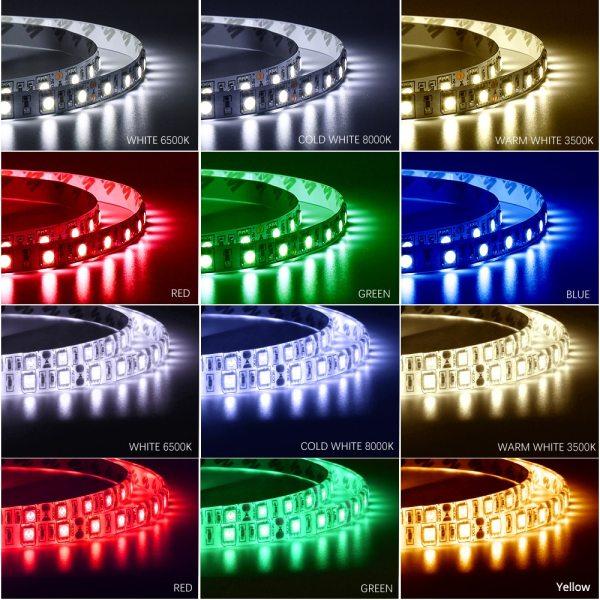 DC12V 5M LED Strip 5050 RGB RGBW RGBWW 60LEDs m Flexible Light 5050 LED Strip RGB 5 DC12V 5M LED Strip 5050 RGB,RGBW,RGBWW 60LEDs/m Flexible Light 5050 LED Strip RGB White,Warm white,Red,Blue,Green