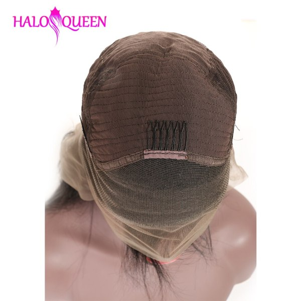 HALOQUEEN Human Hair Wigs Straight Pre Plucked Hairline Baby Hair 8 28 Inch Remy Human indian 3 HALOQUEEN Human Hair Wigs Straight Pre Plucked Hairline Baby Hair 8- 28 Inch Remy Human indian Hair Wigs 13X4 Lace Closure Wigs