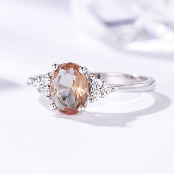 Kuololit Diaspore Zultanite Gemstone Ring for Women Solid 925 Sterling Silver Color Change Ring for Wedding 2 Kuololit Diaspore Zultanite Gemstone Ring for Women Solid 925 Sterling Silver Color Change Ring for Wedding Engagement Jewelry
