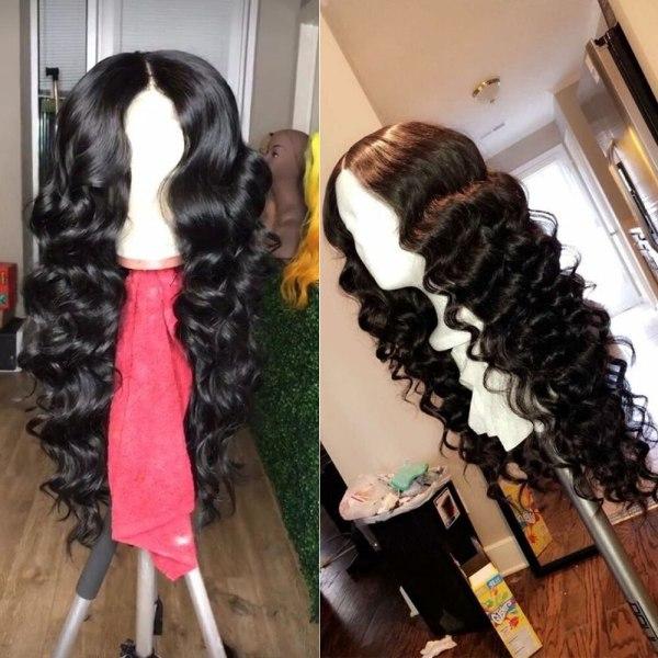QT 4 4 Lace Closure Human Hair Wigs Brazilian Loose Deep Wave for Black Women Pre 3 QT 4*4 Lace Closure Human Hair Wigs Brazilian Loose Deep Wave for Black Women Pre-Plucked Lace Closure Human Hair Wig