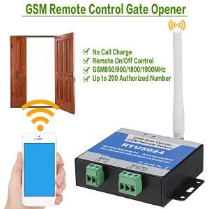RTU5024 GSM Gate Opener Relay Switch Remote Control Door Access Wireless Door Opener By Free Call Innrech Market.com