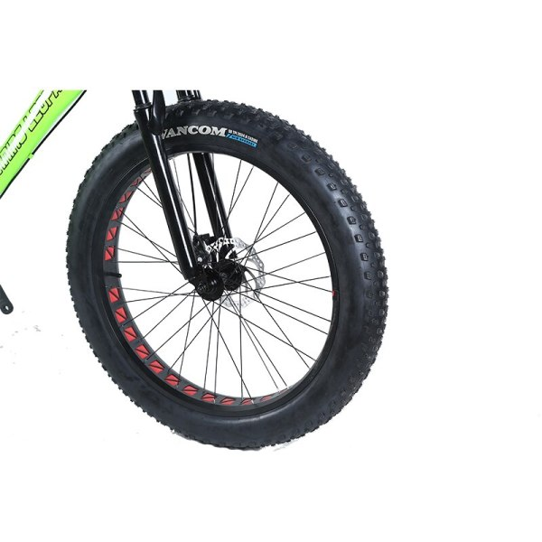 Running Leopard 7 21 24 Speed 26x4 0 Fat bike Mountain Bike Snow Bicycle Shock Suspension 2 Running Leopard 7/21/24 Speed 26x4.0 Fat bike Mountain Bike Snow Bicycle Shock Suspension Fork Free delivery Russia bicycle