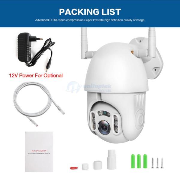 1080P PTZ IP Camera Wifi Outdoor Speed Dome CCTV Security Wireless Camera ONVIF 2MP IR Home 5 1080P PTZ IP Camera Wifi Outdoor Speed Dome CCTV Security Wireless Camera ONVIF 2MP IR Home Surveillance Cameras P2P XMEye